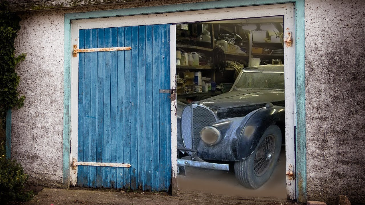 Парень расстроился когда получил в наследство старый гараж, но когда он вскрыл