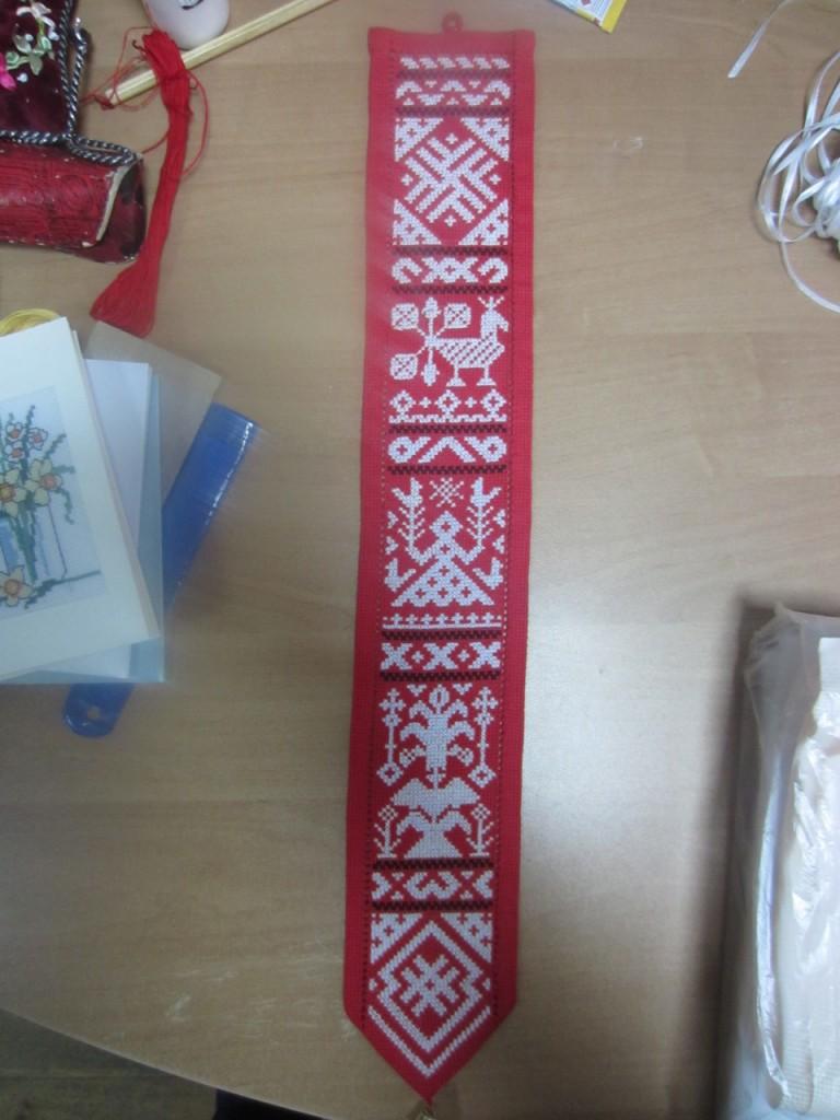 Лента-оберег Белорусский арнамент