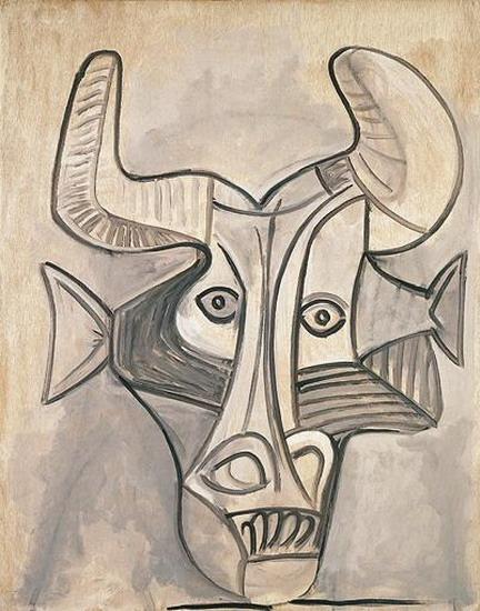 Пабло Пикассо. Минотавр. 1933 год