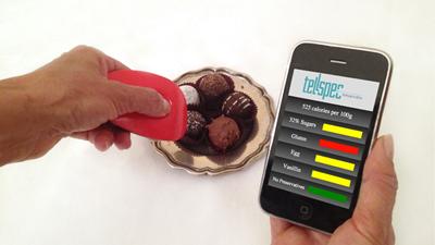 TellSpec просканирует еду и расскажет, из чего она состоит
