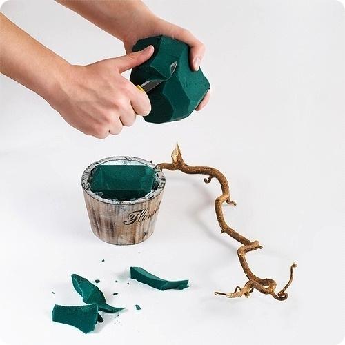 Мандариновое дерево для украшения новогоднего стола. МК