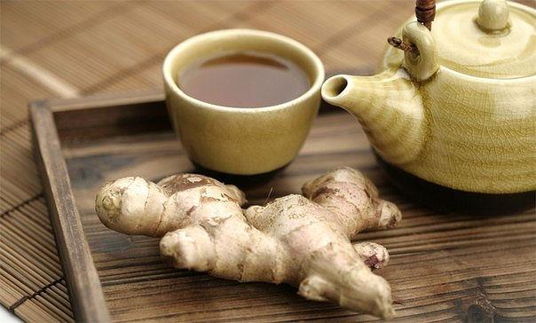 ХИЖИНА ЗДОРОВЬЯ. Лечебный чай с имбирем