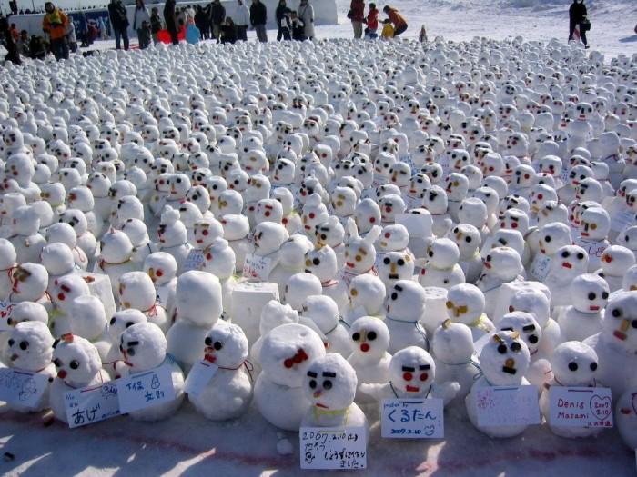 Японские снеговики - daruki