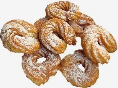 Чуррос - испанские заварные пончики
