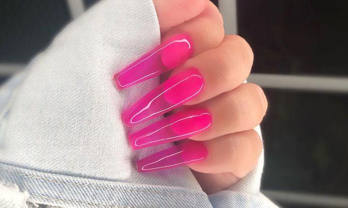 «Желейные» ногти - летний бь…