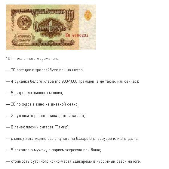 Что сколько стоило в СССР (11 фото)