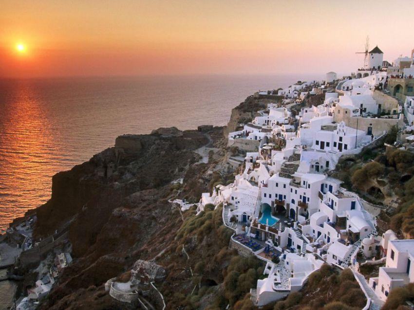 48 красивейших городов и деревень на скалах  мир, деревни, города, скалы