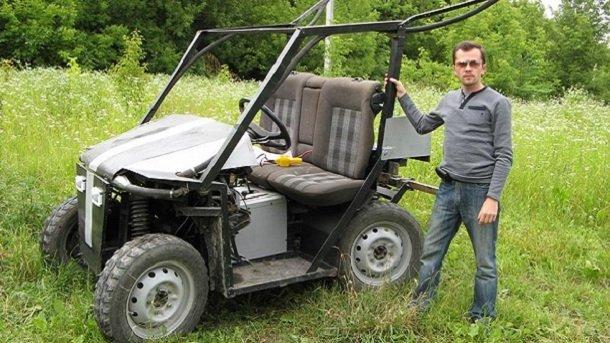 Украинский изобретатель создал необычный вездеход за две тысячи долларов