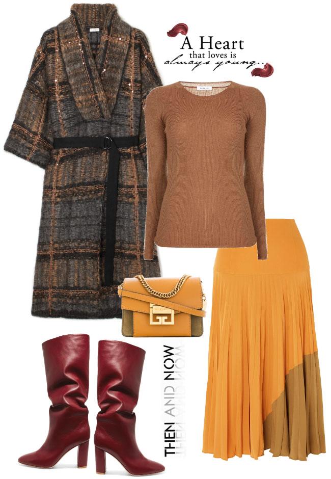 Модные сеты женской одежды осень-зима 2018-2019