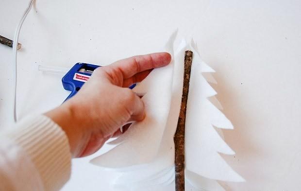 Мини-ёлочки своими руками: 8 идей с инструкциями