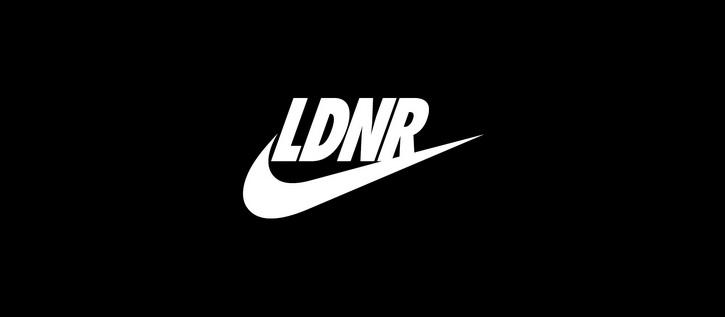 Nike разместил ЛДНР на своем логотипе