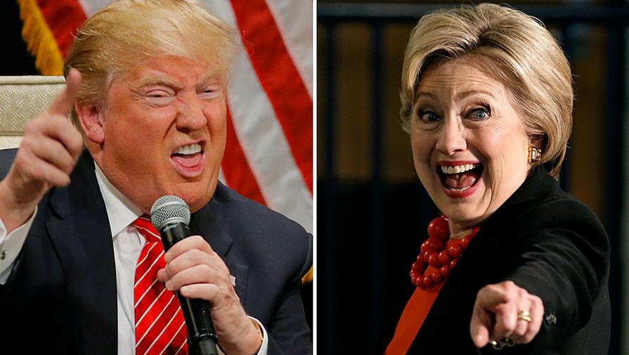 «Милые бранятся»: Трамп продолжает обвинять Клинтон в связях с Россией