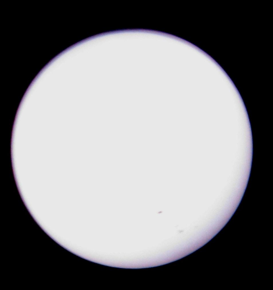 Мои наблюдения Солнца 14.07.2012 (через  солнечный фильтр  Levenhuk 114 мм)