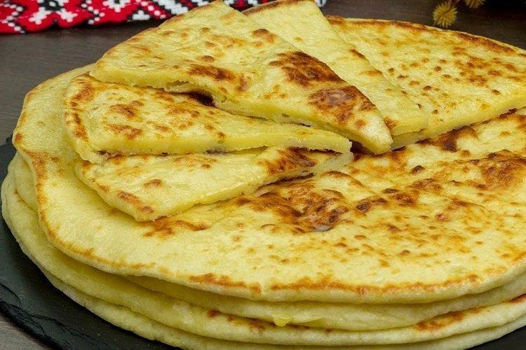 Лепешки из сыра и картофеля