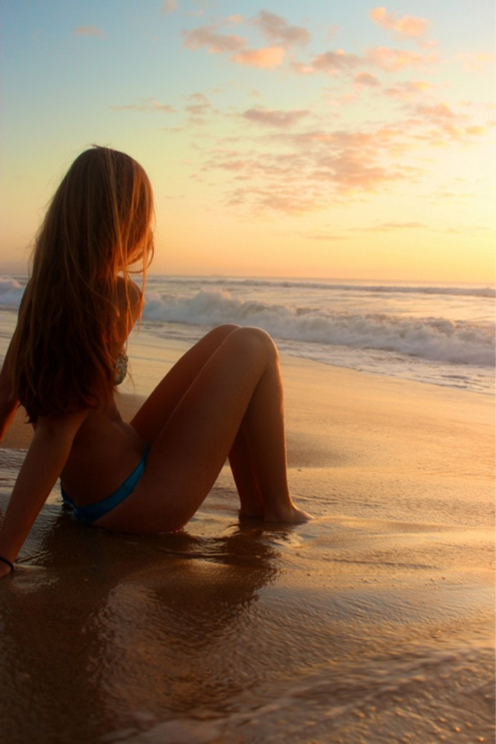 Девушки на море