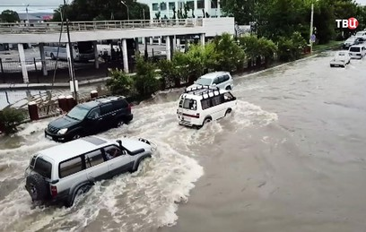 "Тайфун ""Джеби"" оставил без света более 20 населенных пунктов на Сахалине"