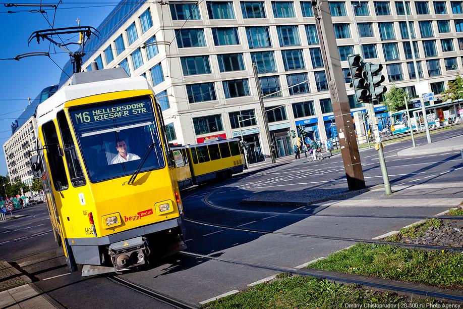 Berlin 8 Общественный транспорт Берлина
