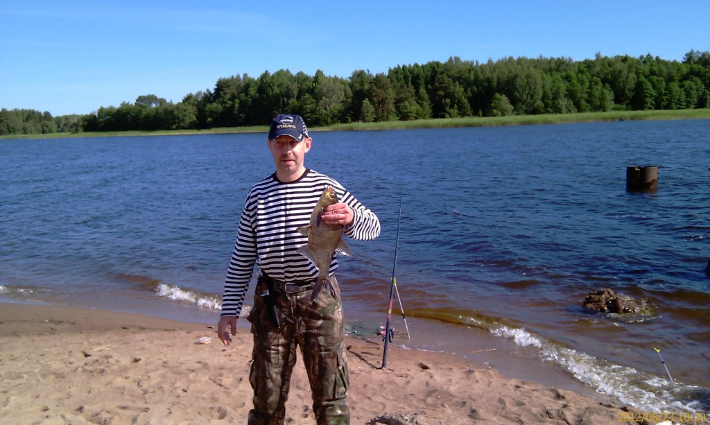 ловля осенью на финском заливе