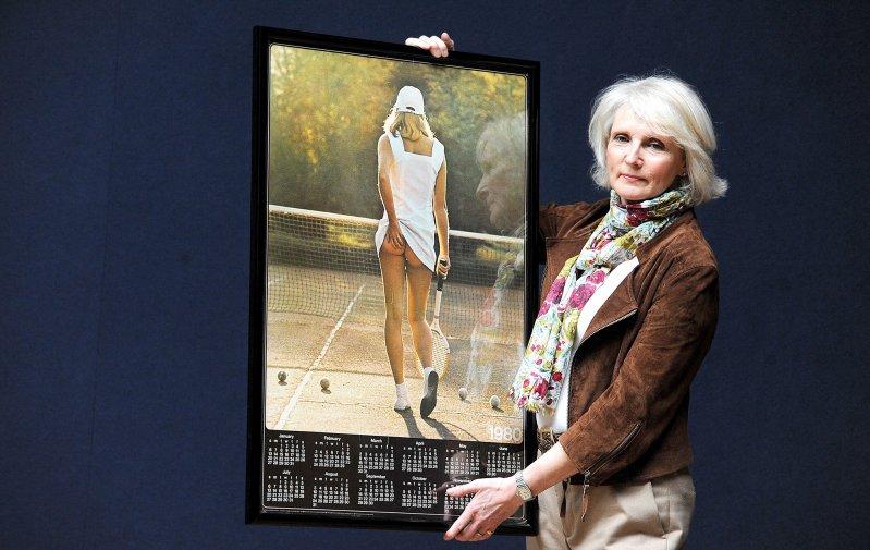 История одной фотографии: Теннисистка теннис, теннисистка, фото