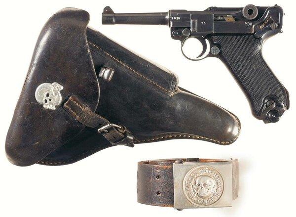 Легендарное оружие Георга Люгера: пистолет Parabellum