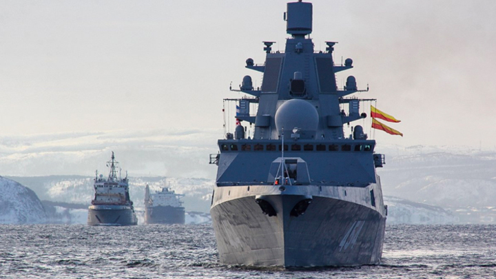 Куда идёт «Адмирал Горшков»,…