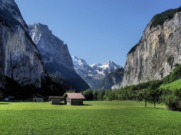 Красота Швейцарии