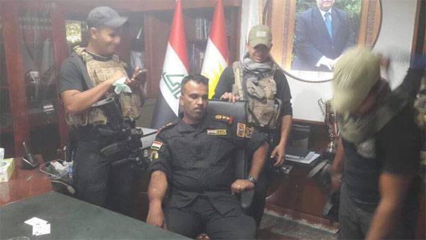 Курды: В Киркук помимо иракской армии вошёл иранский спецназ