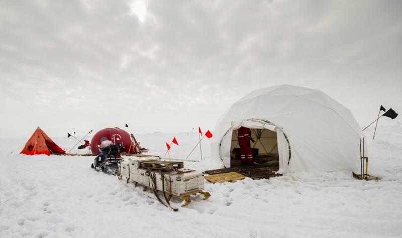 Еще одно экстремальное направление - Антарктида кемпинг, мир, опасность, отдых, палатка, путешествие, турист, экстрим