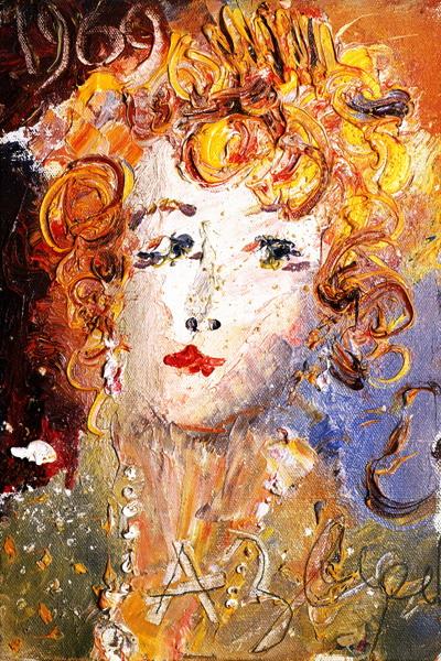 Портрет О. Асеевой 1969 (400x600, 172Kb)