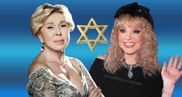 Популярные российские певицы-еврейки
