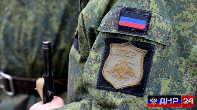 Ополчение уничтожило обстреливавший Горловку минометный расчет ВСУ