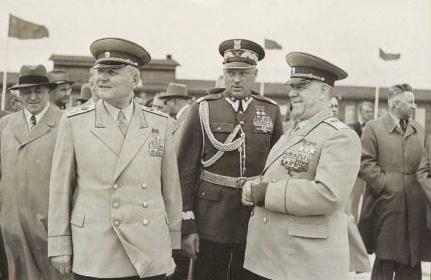 Как маршал Константин Рокосс…