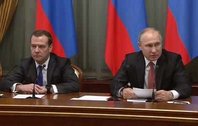 """""""Сделали все возможное"""": Путин оценил работу правительства"""