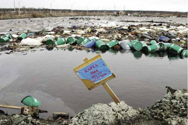 Критическая ситуация: Совбез обнаружил 2 млн тонн токсичных отходов под Питером