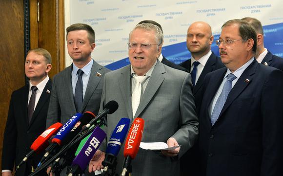 Жириновский предложил свою с…
