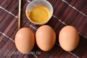 Как покрасить яйца в золотой цвет кандурином: Ингредиенты