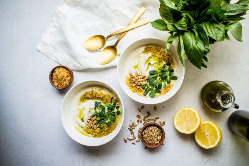Изображение рецепта Крем-суп из запечённой цветной капусты
