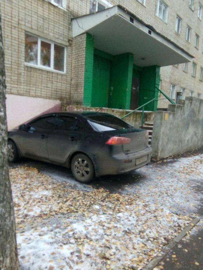 Наглая парковка