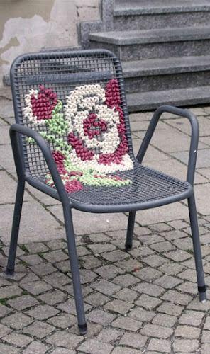 Гениальные идеи использования вышивки в декоре