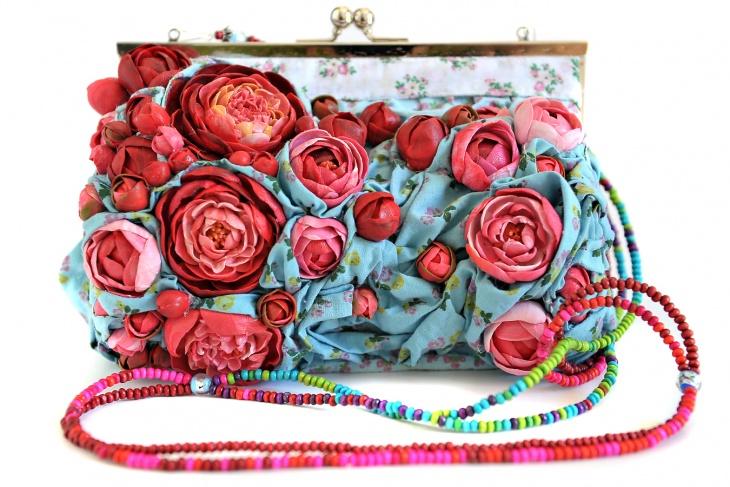 Цветочные сумочки Nerve Tonic