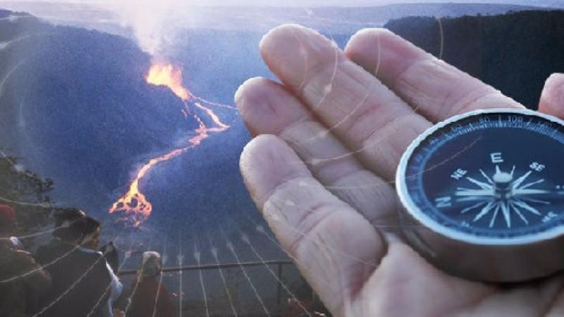 На гавайском вулкане Килауэа…
