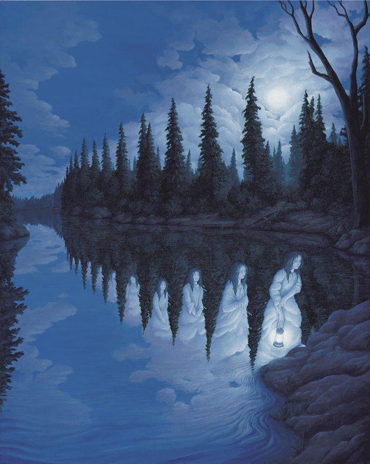 оптические иллюзии от роба гонсалеса (25)