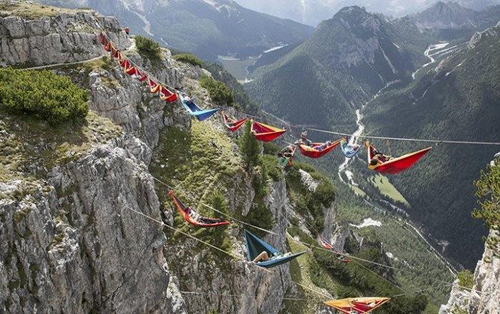 Встреча на высоте в Итальянских Доломитах