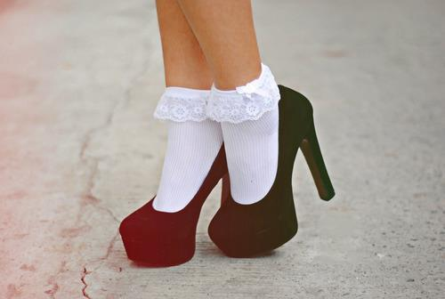 Как отстирать белые носки