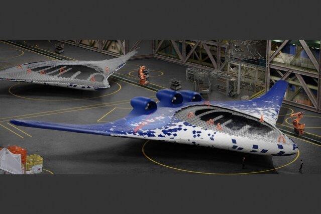 Инженеры MIT и NASA показали самолет с принципиально новым крылом