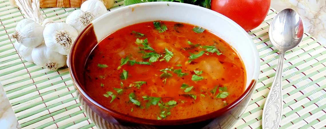Постный суп к обеду
