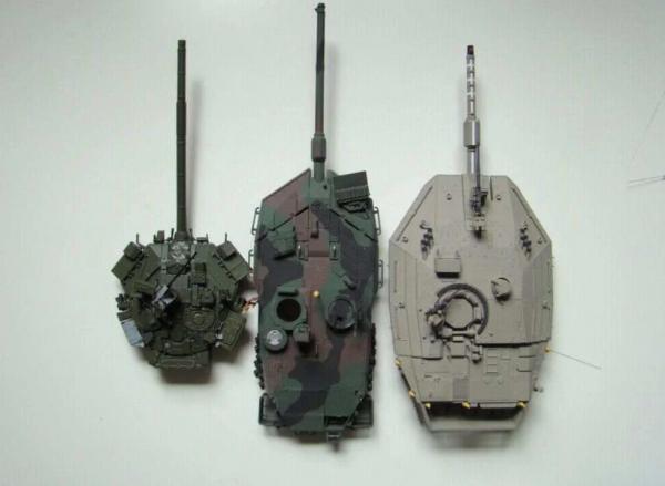 Почему башни российских танков намного меньше западных