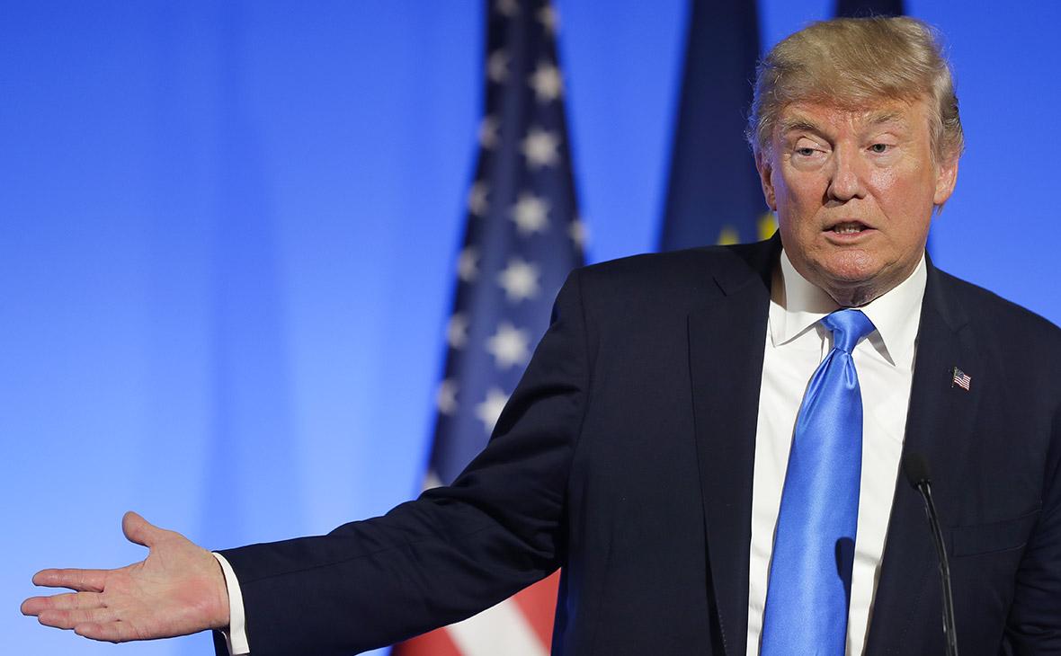 Трамп прокомментировал рекордное падение собственного рейтинга