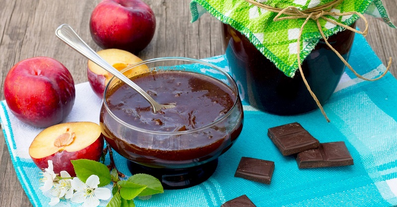 Рецепт варенья из слив с шоколадом