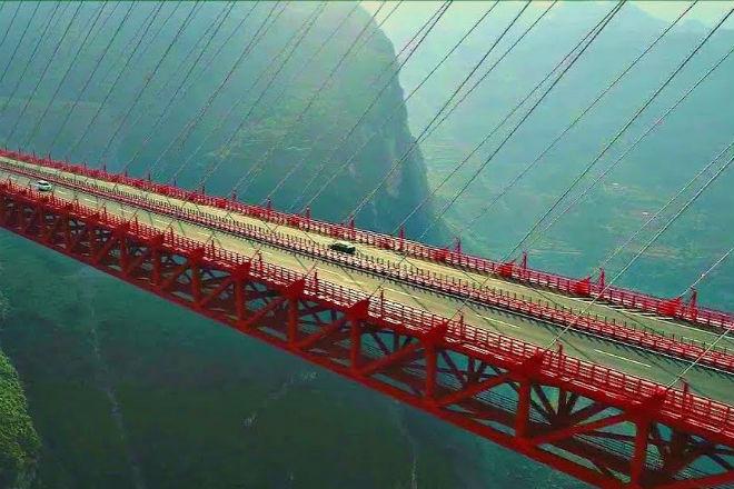 Высочайший мост в мире